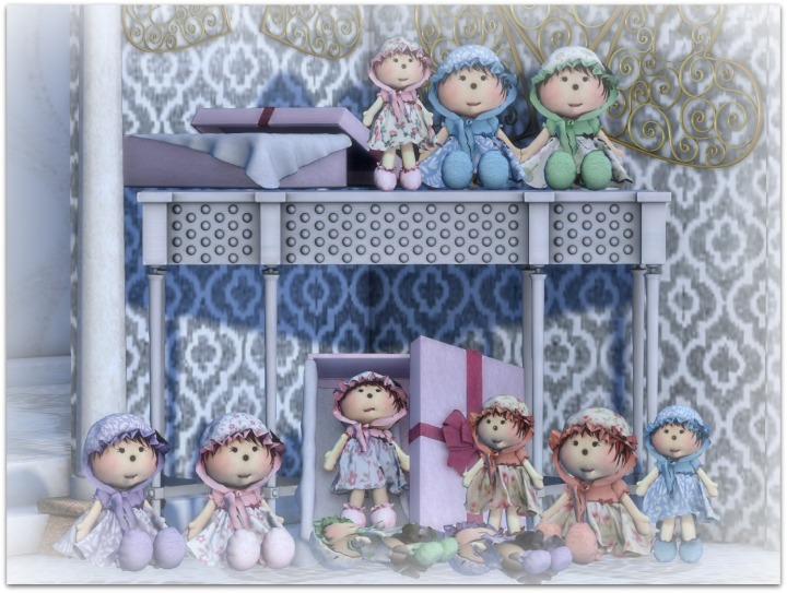 YBee Designs Madeleine Dolls Gacha
